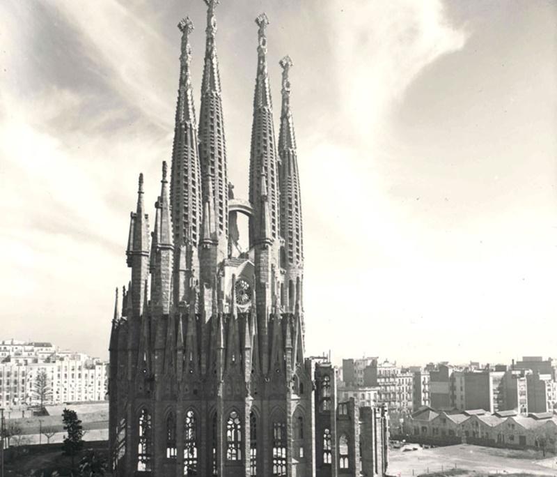 1953'te kilisenin görünümü
