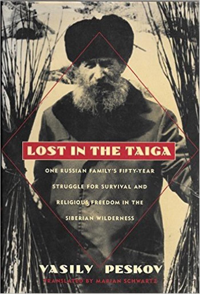 Kitabın kapağı ve Karp Lykov