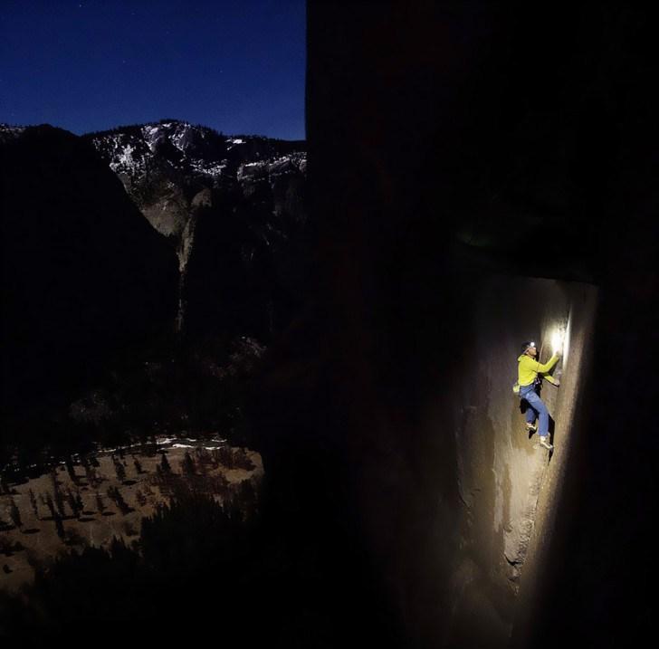Gece Tırmanış Dağcılık
