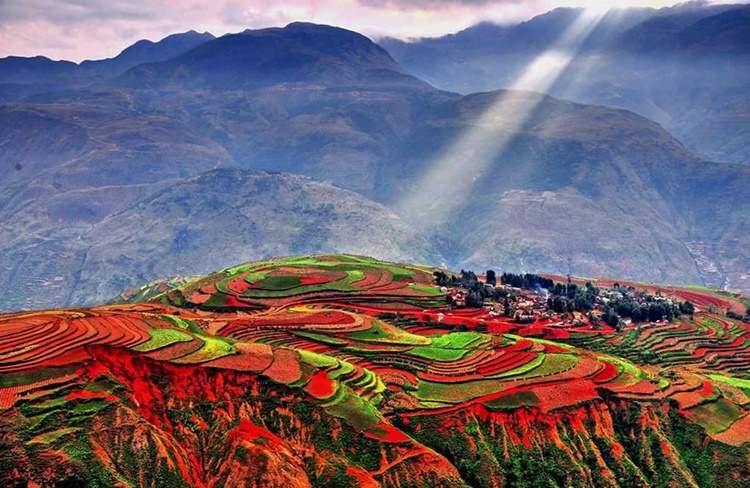 Dongchuan-Red-Land-in-Yunnan-China