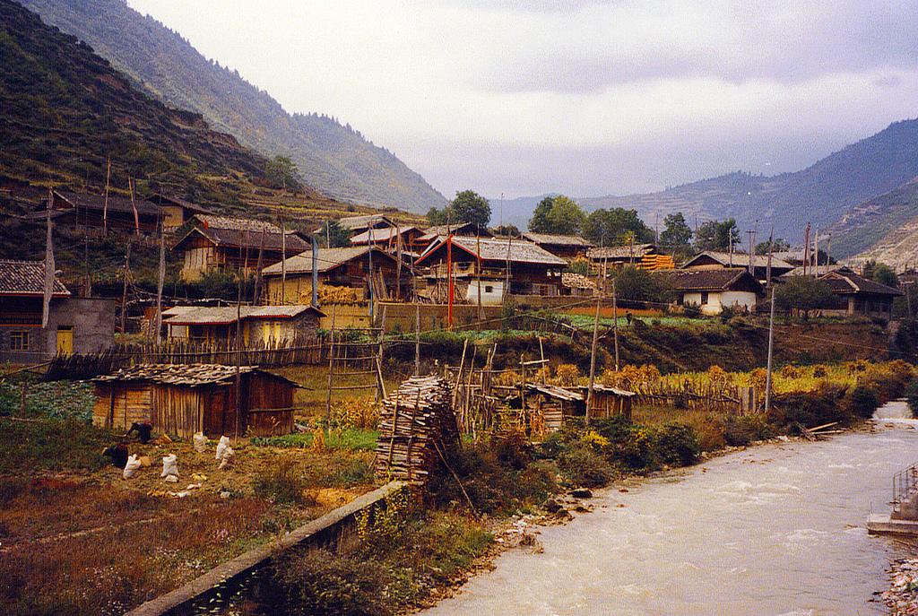 Tibetan-Village-Jiuzhaigou