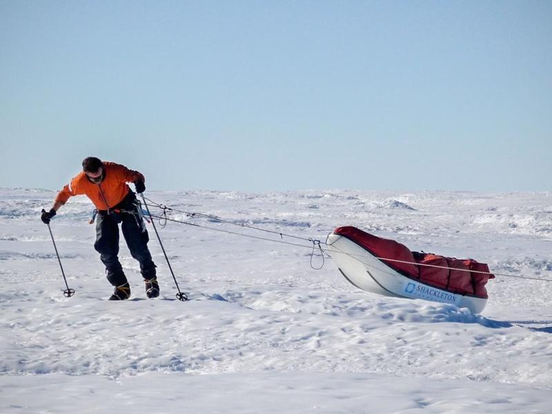 Worsley daha önce Güney Kutup bölgesinde birkaç keşif gezisi gerçekleştirmişti. [Fotoğraf: Henry Worsley izniyle]