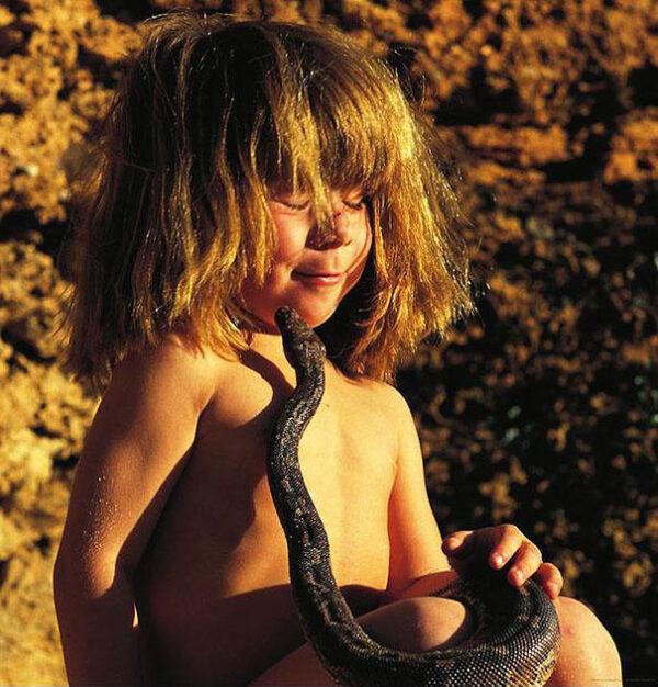 Tippi Degre, the real life Mowgli - Telegraph